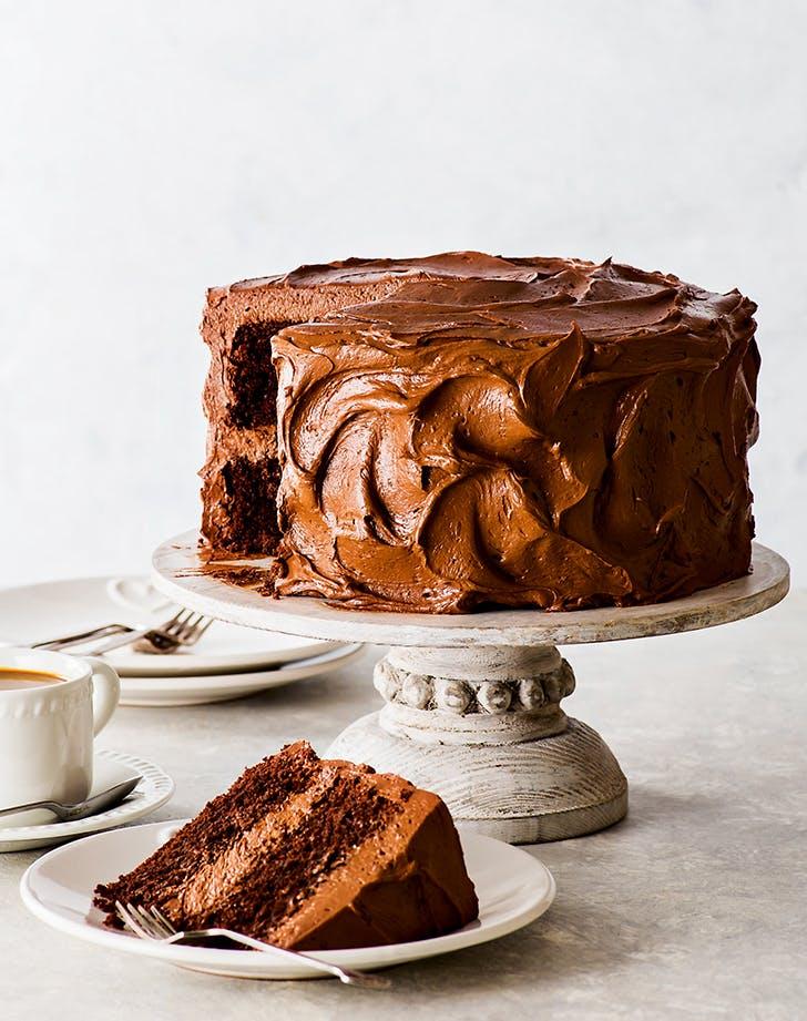 Gluten-Free Super-Moist Chocolate Cake