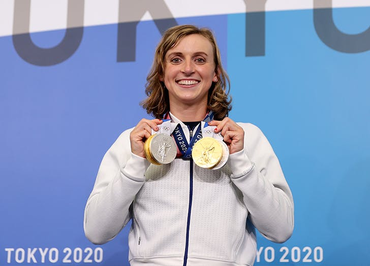 Olympic Swimmer Katie Ledecky on Athletes Leading the Mental Health Conversation