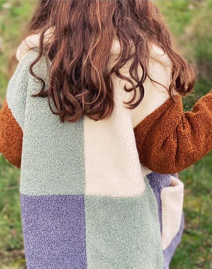kids fashion trends fall 2021 colorblock coats