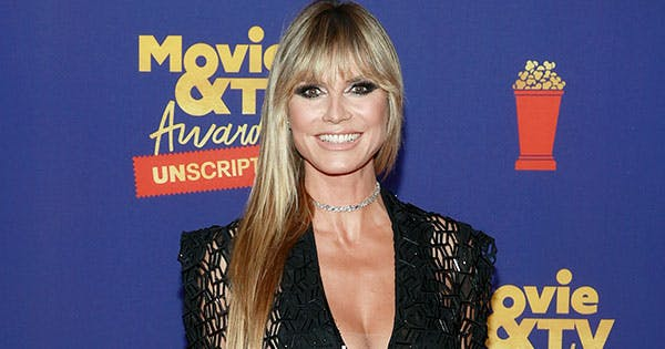 Heidi Klum & Daughter Leni Just Stole the Show in Matching Sparkly Dresses