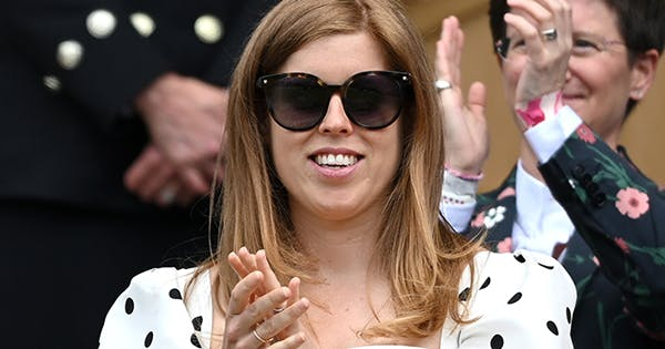 Princess Beatrice Offers Rare Glimpse of Her Baby Bump During Royal Outing