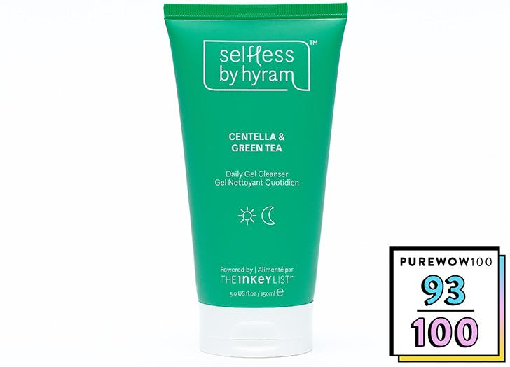selfless by hyram review hydrating gel cleanser