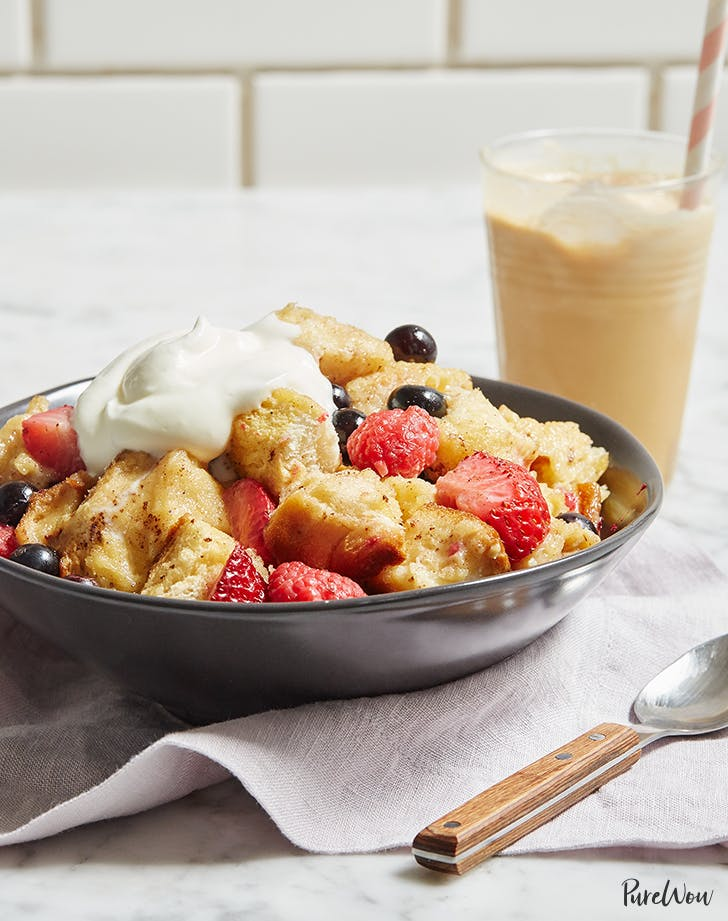 Slow-Cooker French Toast with Berries
