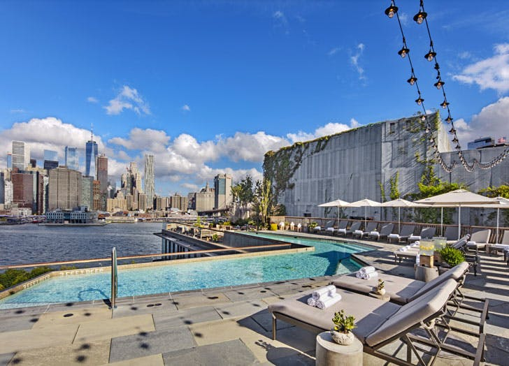 things to do in nyc when its too hot 1 hotel brooklyn bridge