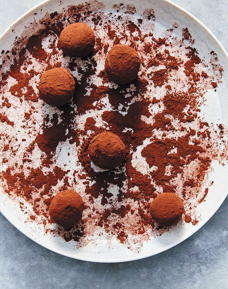 Three-Ingredient Chocolate Truffles