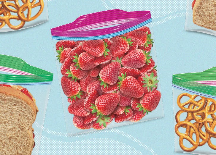 This Ziploc Bag Will Make Prepping Busy Back-to-School Lunches a Breeze