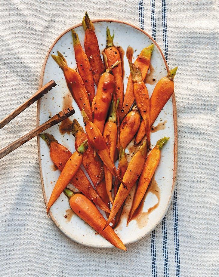 Balsamic-Brown Sugar Carrots