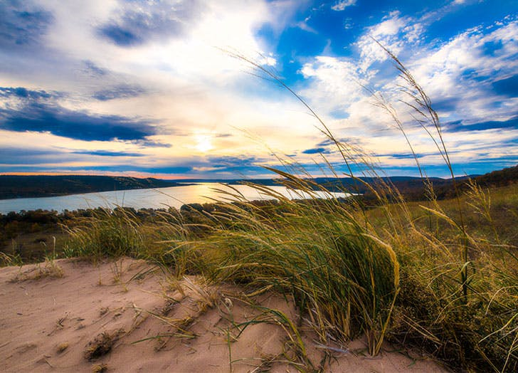 best camping in michigan sleeping bear dunes national lakeshore
