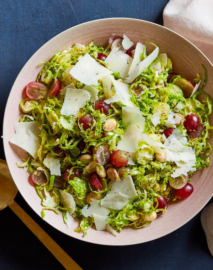 fall salad recipes shaved brussels sprouts salad recipe