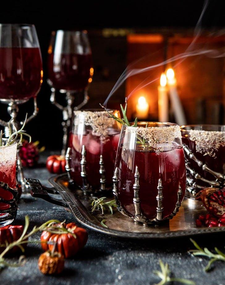 halloween cocktails sleepy hollow cocktail recipe