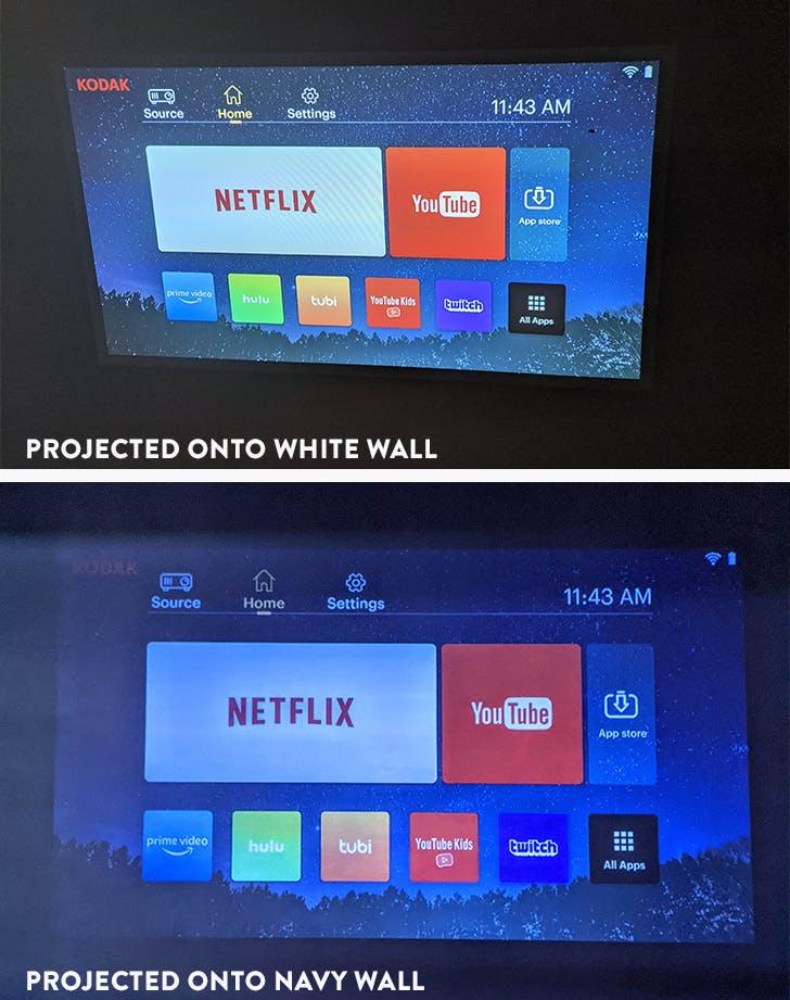 kodak luma 350 screen quality comparison
