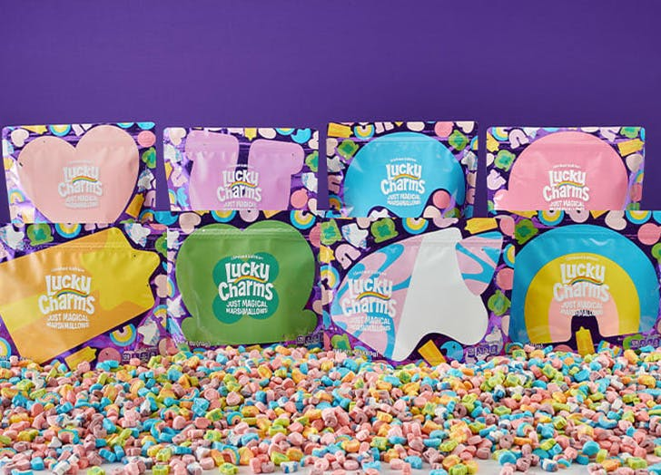Lucky Charms's Marshmallow-Only Pouches Are Back (But They Won't Be Here for Long)