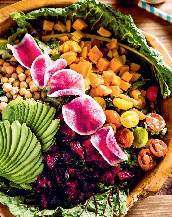 Malibu Farm's Vegan Chop Salad