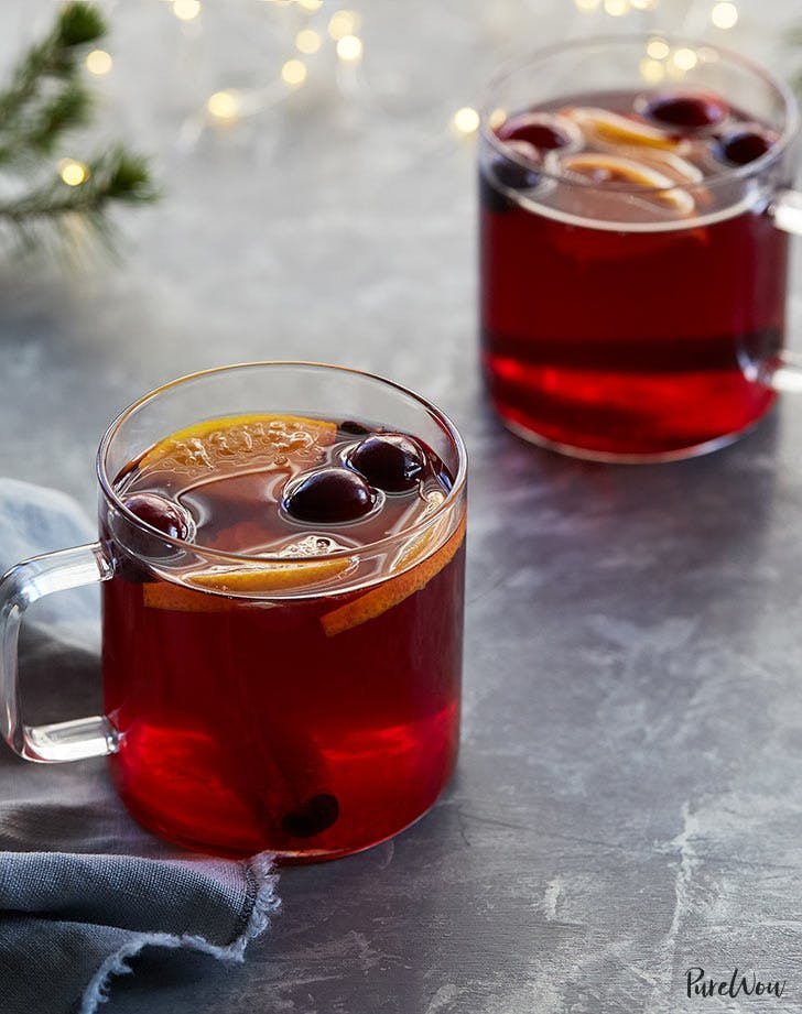 whiskey cocktails slow cooker cranberry hot toddies 921