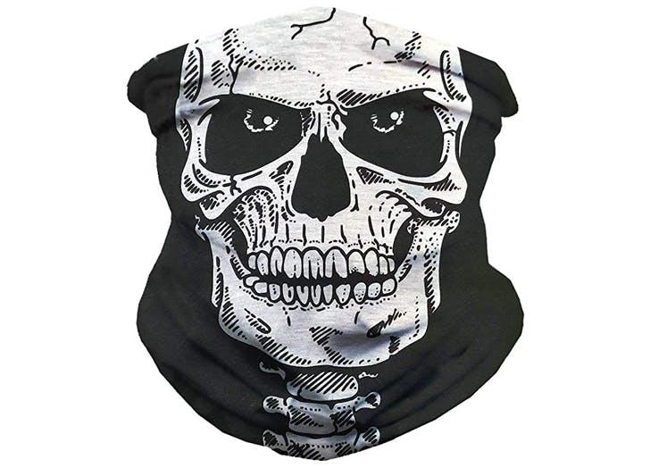 Best Halloween Face Masks iHeartRaves Creepy Skeleton Face Mask