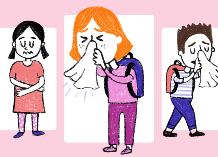 Ask a Pediatrician: Is It OK to Send My Child into School with a Cold?
