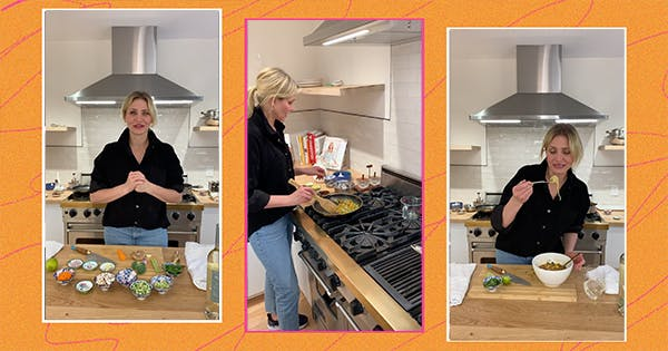 """Cameron Diaz Calls This Easy, Go-To Meal """"Whatever-You-Got Ramen""""—Here's the Full Recipe"""