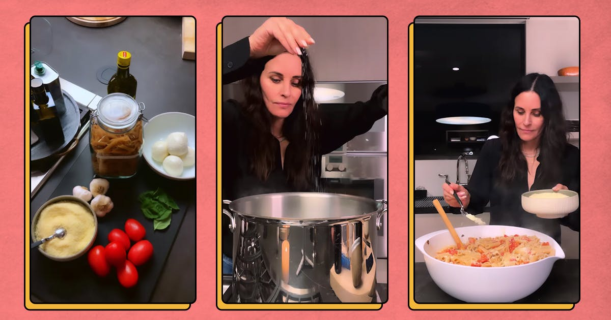 We're Making Courteney Cox's Pasta alla Checca for Dinner (and So Should You)