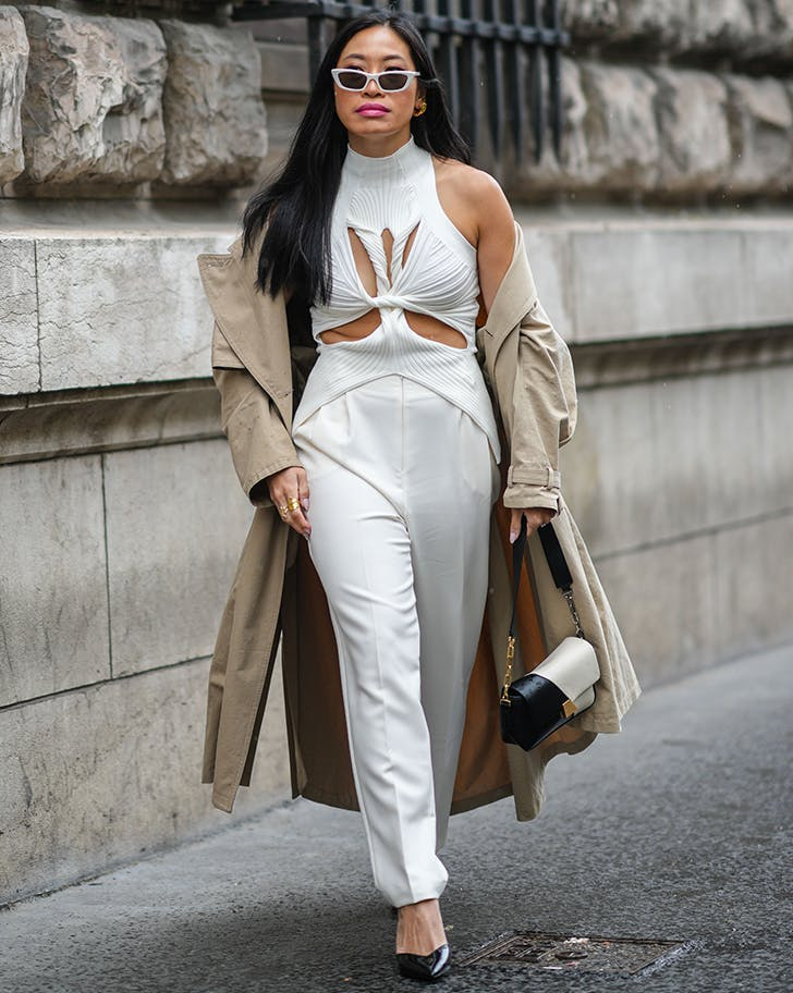 cut out knits fashion week trends september 2021