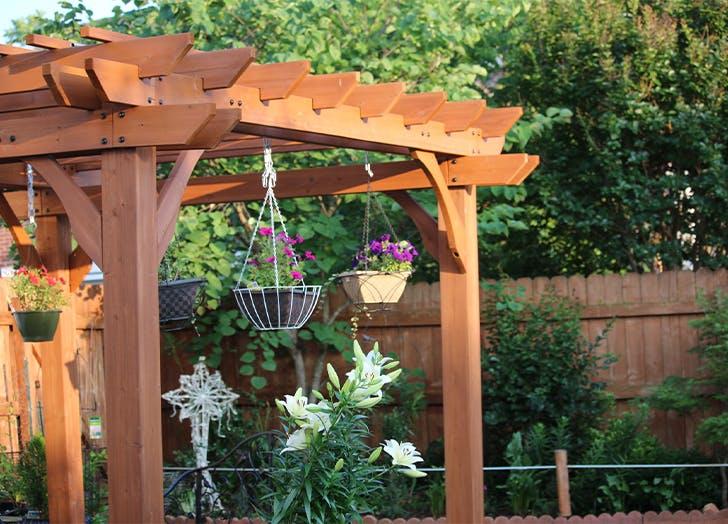 garden trends pergolas