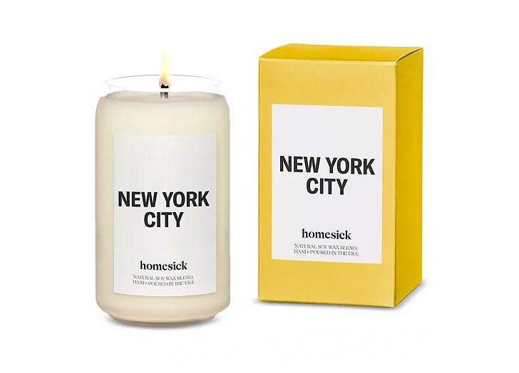 gifts for new yorkers homesick candle